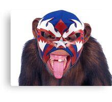 lucha monkey 2 Canvas Print