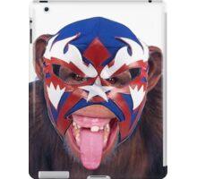 lucha monkey 2 iPad Case/Skin