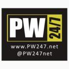 Pro Wrestling 247 - PW247net (Sticker) by DCorreia247