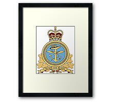 Canadian Navy Maritime Command Logo Framed Print