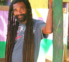 Rasta Man by Laurel Talabere