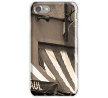 Cafe St. Paul - Montreal iPhone Case/Skin