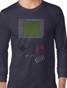 Nintendo GAME BOY Long Sleeve T-Shirt