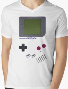 Nintendo GAME BOY Mens V-Neck T-Shirt