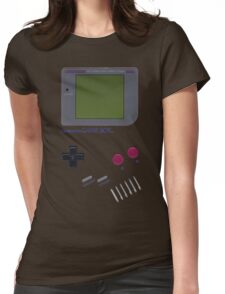 Nintendo GAME BOY Womens Fitted T-Shirt