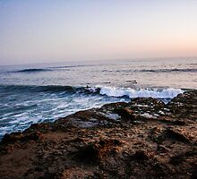 Santa Cruz Sunset by mariajanae