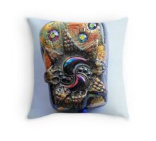 Ceramic Detail Throw Pillow