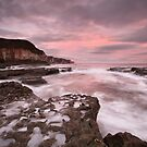 Thornwick Bay Sunrise by MartinWilliams