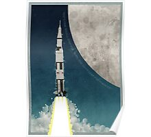 Apollo Rocket Poster
