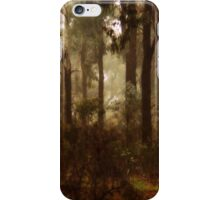 Whipstick Bush in Winter by Lorraine McCarthy iPhone Case/Skin