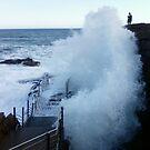 Splash, Acadia, Maine by LichenRockArts