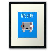Cave Story Balrog Framed Print