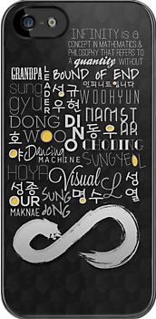 We are Infinite (Phone Case) by pinkbook