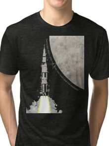 Apollo Rocket Tri-blend T-Shirt