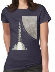 Apollo Rocket Womens Fitted T-Shirt