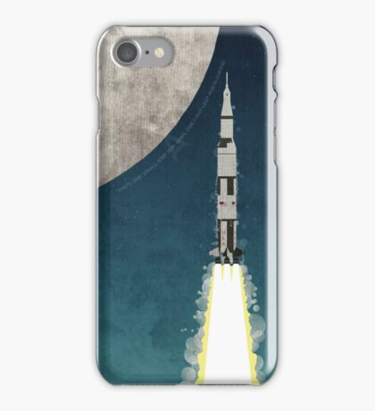 Apollo Rocket iPhone Case/Skin
