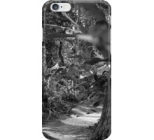 Black and White Path to Somewhere iPhone Case/Skin
