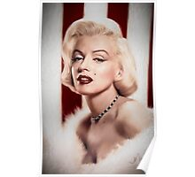 Marilyn Monroe- Queen of the Bombshells Poster