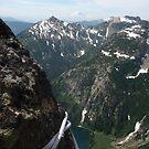 Can you see Rainier? climbing Cascades, Washington by LichenRockArts