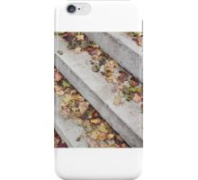 Fall steps, Brattleboro Vermont iPhone Case/Skin