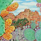 Desert Cacti by joeyartist