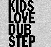 Kids Love Dubstep (Black) Womens Fitted T-Shirt