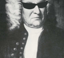 Bach is my Homeboy Sticker