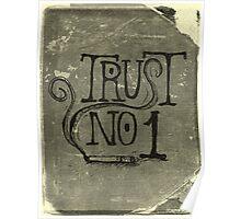 Trust No. 1 Poster