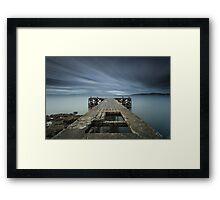 Portencross Framed Print