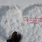 Footprints by Nicole  Markmann Nelson
