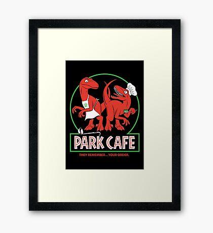 Raptors in the Kitchen Framed Print