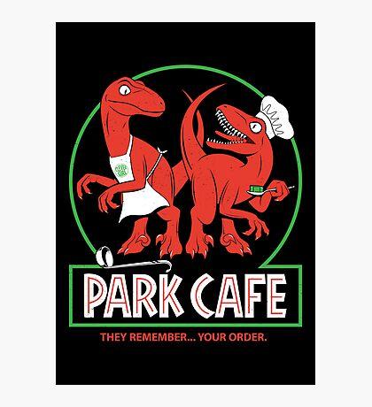 Raptors in the Kitchen Photographic Print