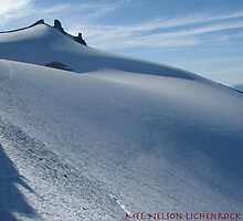 Smooth snow, Mt Daniels, Cascades, Washington by LichenRockArts