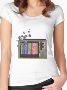 Blow Women's Fitted Scoop T-Shirt