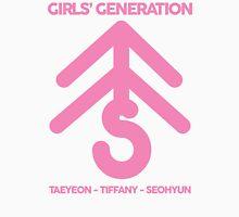 Girls' Generation TaeTiSeo Christmas Tree Logo - Pink Unisex T-Shirt
