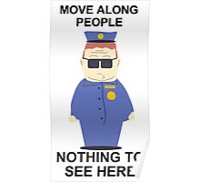 Officer Barbrady (South Park) Poster