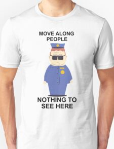 Officer Barbrady (South Park) Unisex T-Shirt