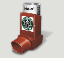 "Starbrew Coffee ""Caffeine"" Inhaler  by TeeHut"
