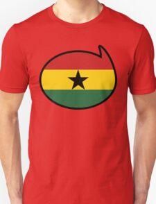 Ghana Soccer / Football Fan Shirt / Sticker T-Shirt