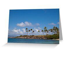 Kapalua Beach, Maui, Hawaii Greeting Card