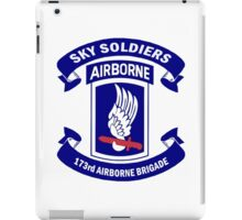 Insignia of the 173rd Special Forces Airborne Brigade! iPad Case/Skin