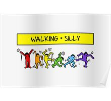 Pop Shop Silly Walks Poster