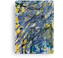 Witched Trees Canvas Print