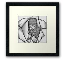 'Fighting Back' Adam Ant Framed Print