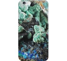 Strashimirite and Barite iPhone Case/Skin