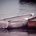White Rowboat by Elizabeth Thomas
