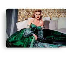 Maureen O'Hara- Queen of the Spitfires Canvas Print