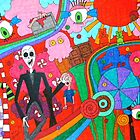 Slenderman in Candyland by tonitiger415