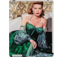Maureen O'Hara- Queen of the Spitfires iPad Case/Skin