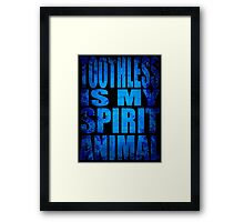 Toothless is my Spirit Animal Framed Print